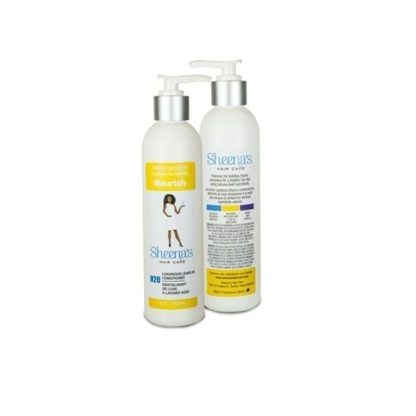 Nourish Leave in conditioner by Sheena's hair care