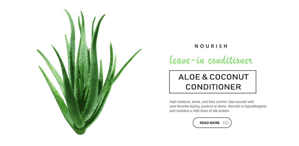Nourish - Aloe & Coconut conditioner | Sheenas Hair Care