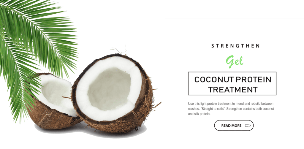 Strengthen - Coconut protein treatment | Sheenas Hair Care